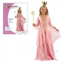 Dětský karnevalový kostým PRINCEZNA KORDULKA 110-120cm ( 4 - 6 let )